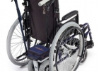 Power assisted foldable wheelchair for hire