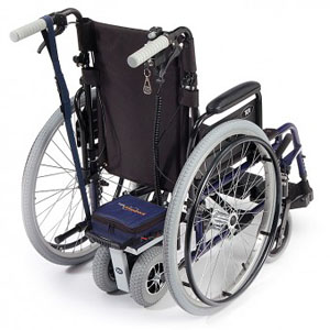 wheelchair with powerpack